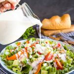 Easy Homemade Blue Cheese Salad Dressing