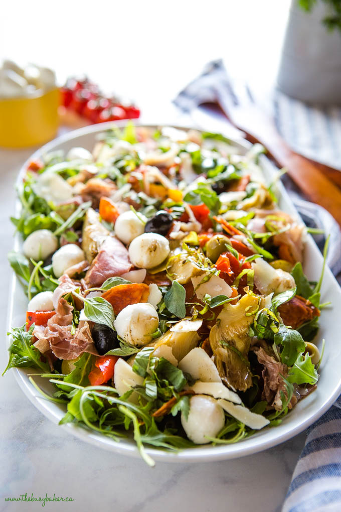 Low Carb Italian Chopped Salad