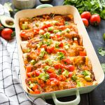 Vegetarian Sweet Potato Black Bean Enchiladas