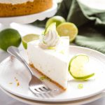 Easy No Bake Key Lime Cheesecake