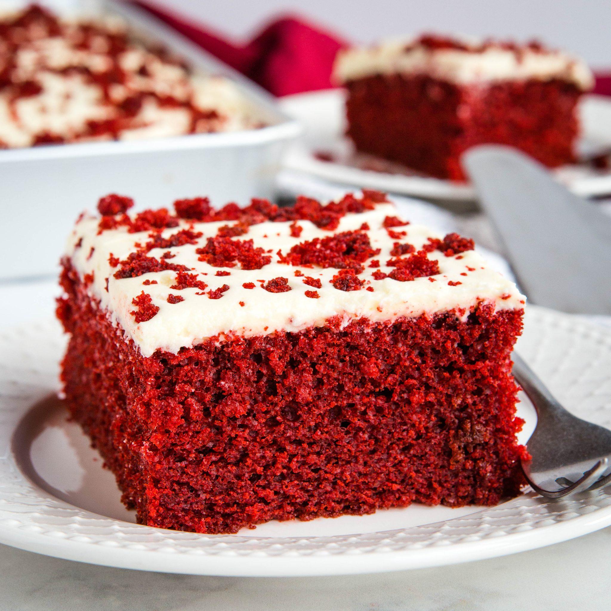 Homemade Red Velvet Cake One Bowl Recipe The Busy Baker
