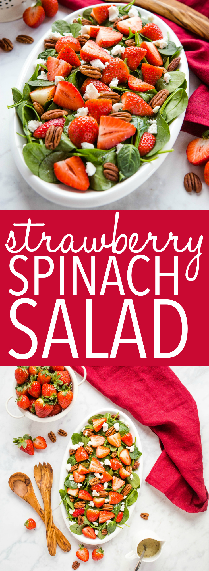strawberry spinach salad pinterest