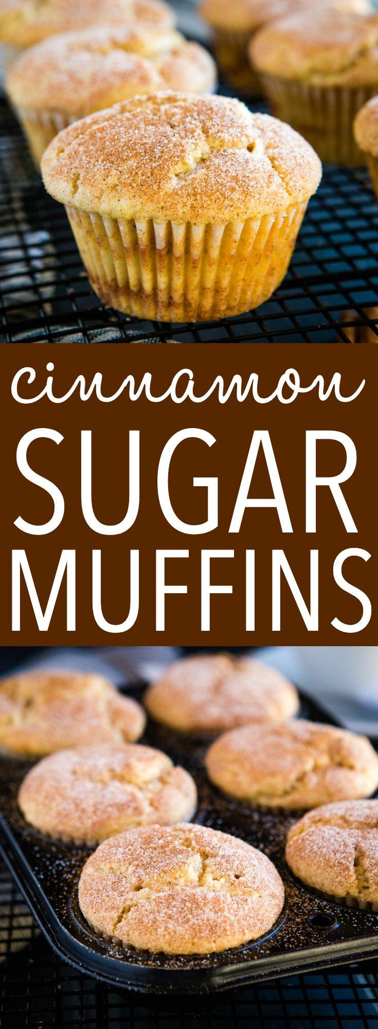 cinnamon sugar muffins pinterest