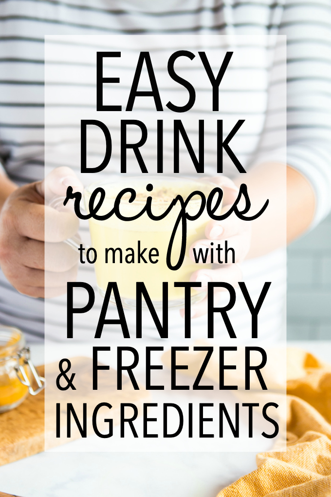 easy drink recipes
