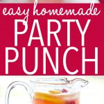 Easy Party Punch Pinterest