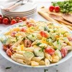 Easy Classic Pasta Salad