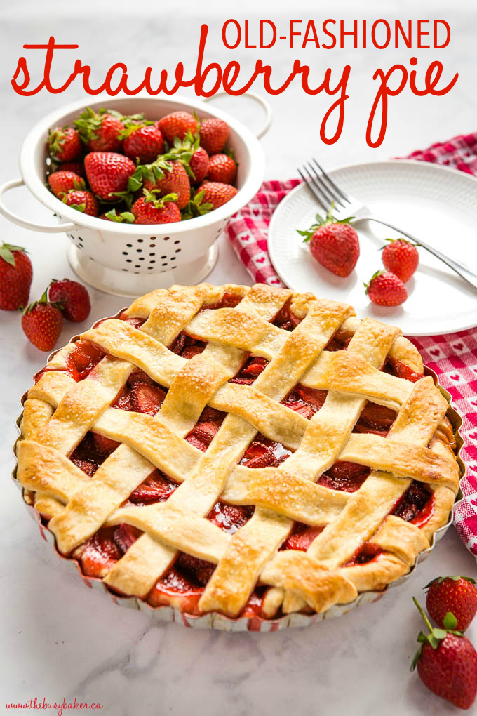 Classic Strawberry Pie Recipe