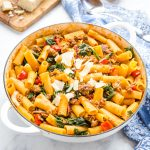 Easy One Pot Italian Sausage Pasta