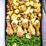 Easy Lemon Chicken Sheet Pan Dinner