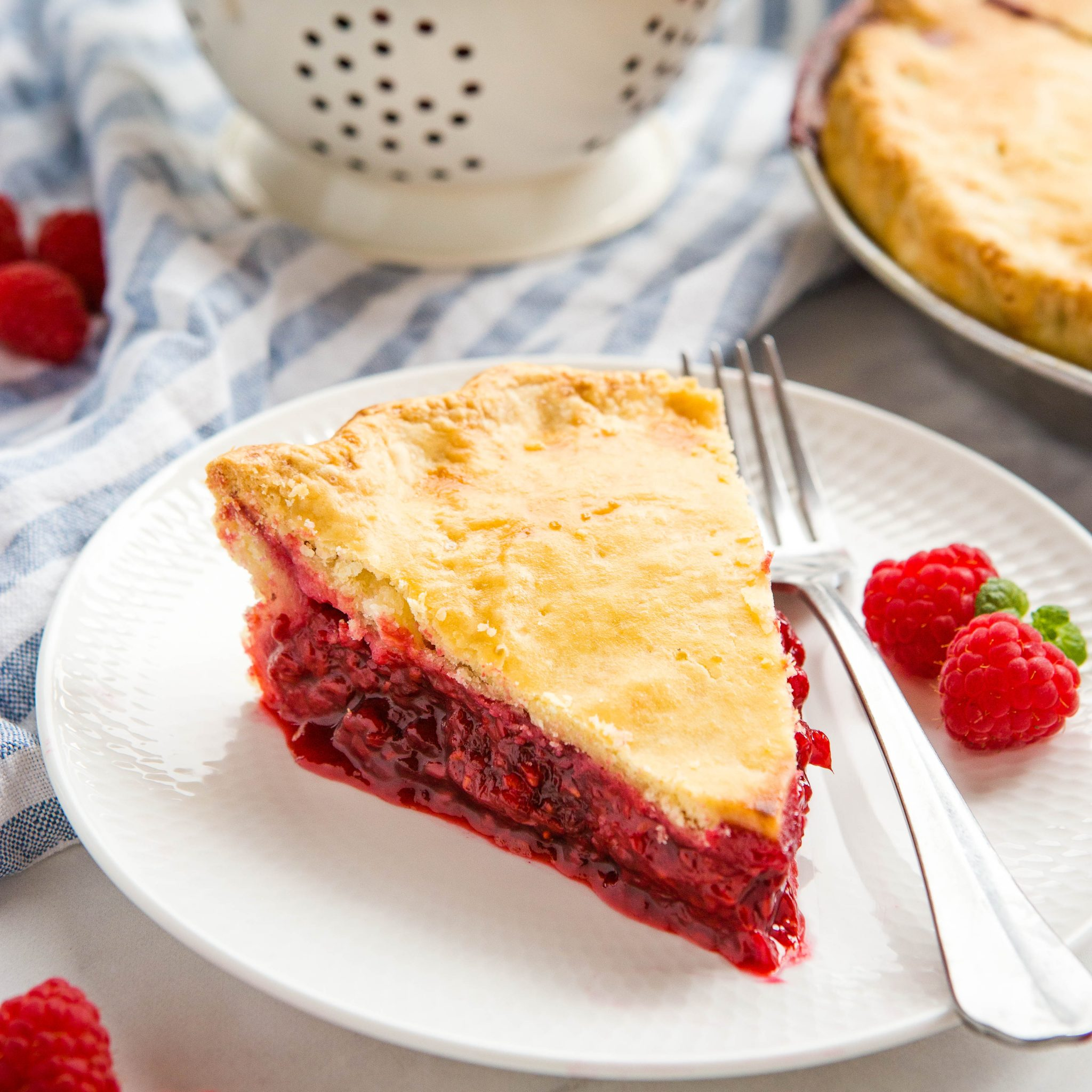 Classic Raspberry Pie Family Recipe The Busy Baker