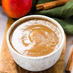 Healthy Instant Pot Applesauce