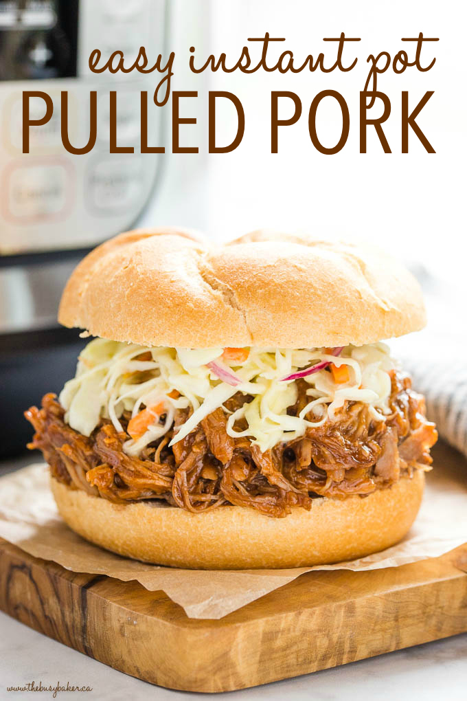Easy Instant Pot Pulled Pork