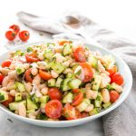White Bean Salad with Tomatoes