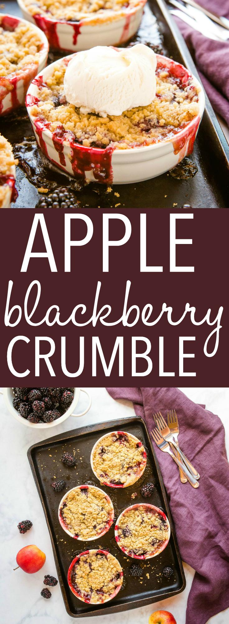 Apple Blackberry Crumble Pinterest