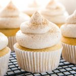 Chai Spice Cupcakes with Cinnamon Frosting