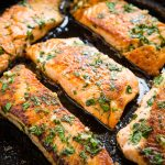 One Pan Herb and Garlic Butter Salmon