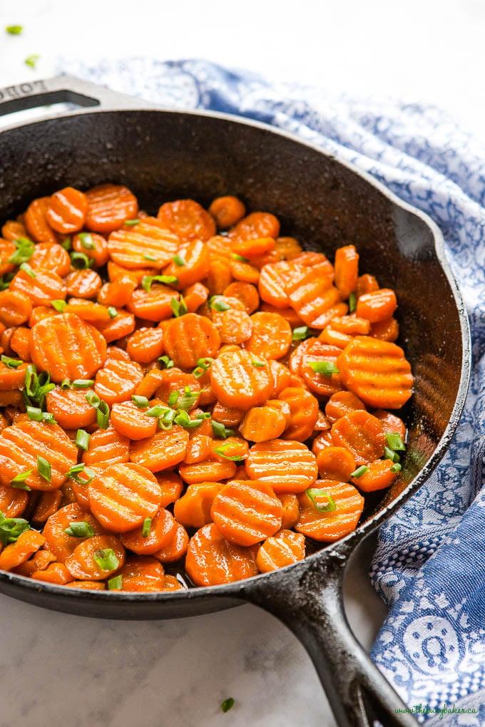 crinkle cut carrots side dish