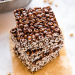 Chocolate Puffed Wheat Square