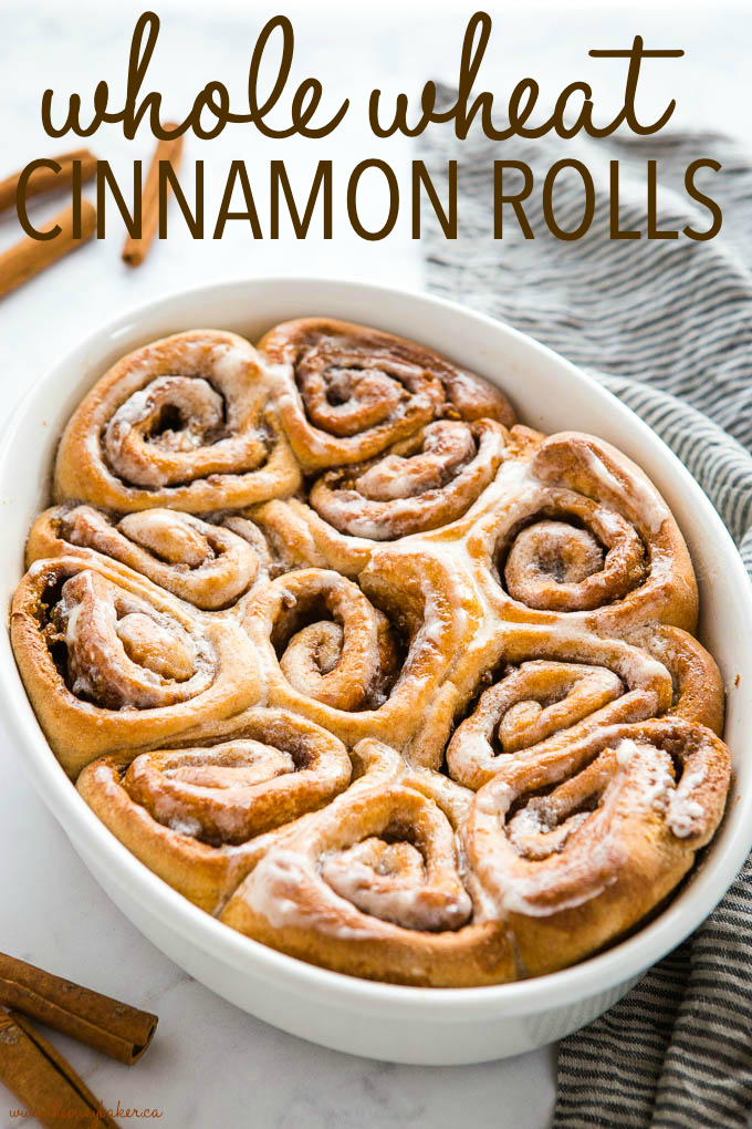 Best Ever Whole Wheat Cinnamon Buns