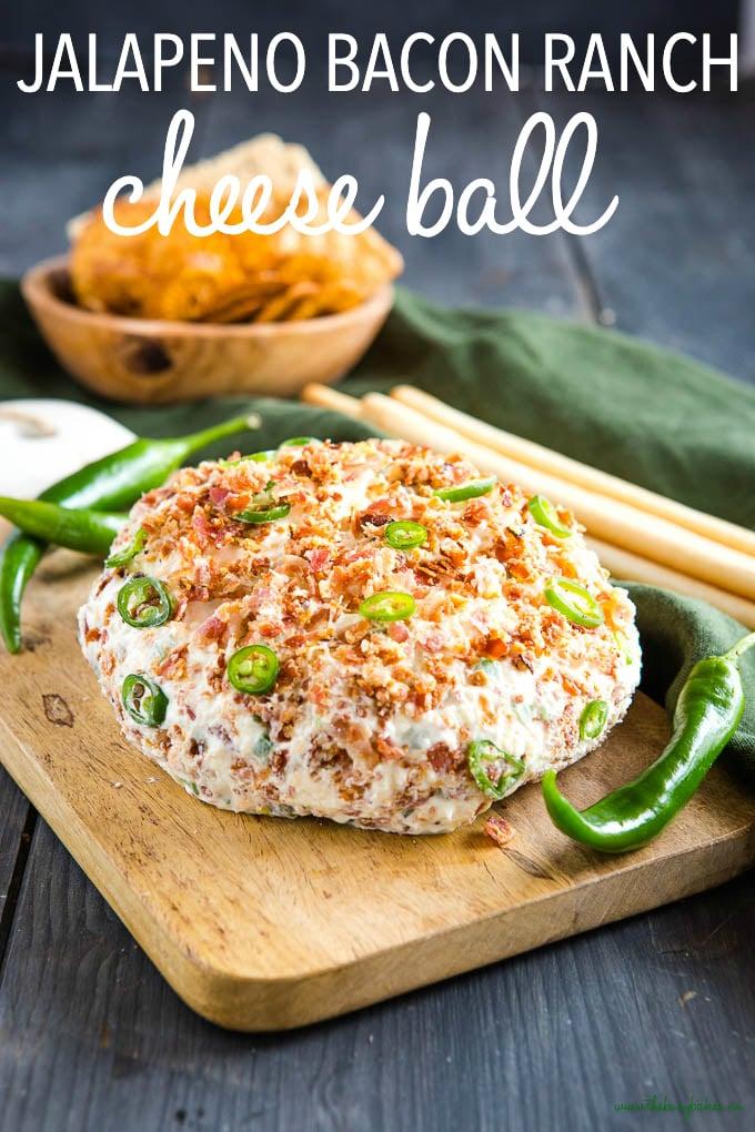 Bacon Ranch Jalapeno Cheese Ball