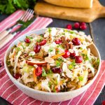 Maple Cranberry Coleslaw