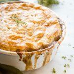 Vegetarian Mushroom Pot Pie