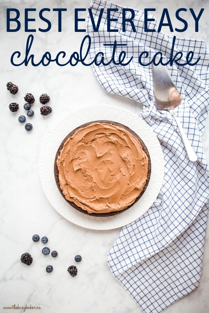 Best Ever Easy Chocolate Cake - Baking for Beginners