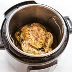 Instant Pot Roasted Chicken and Gravy