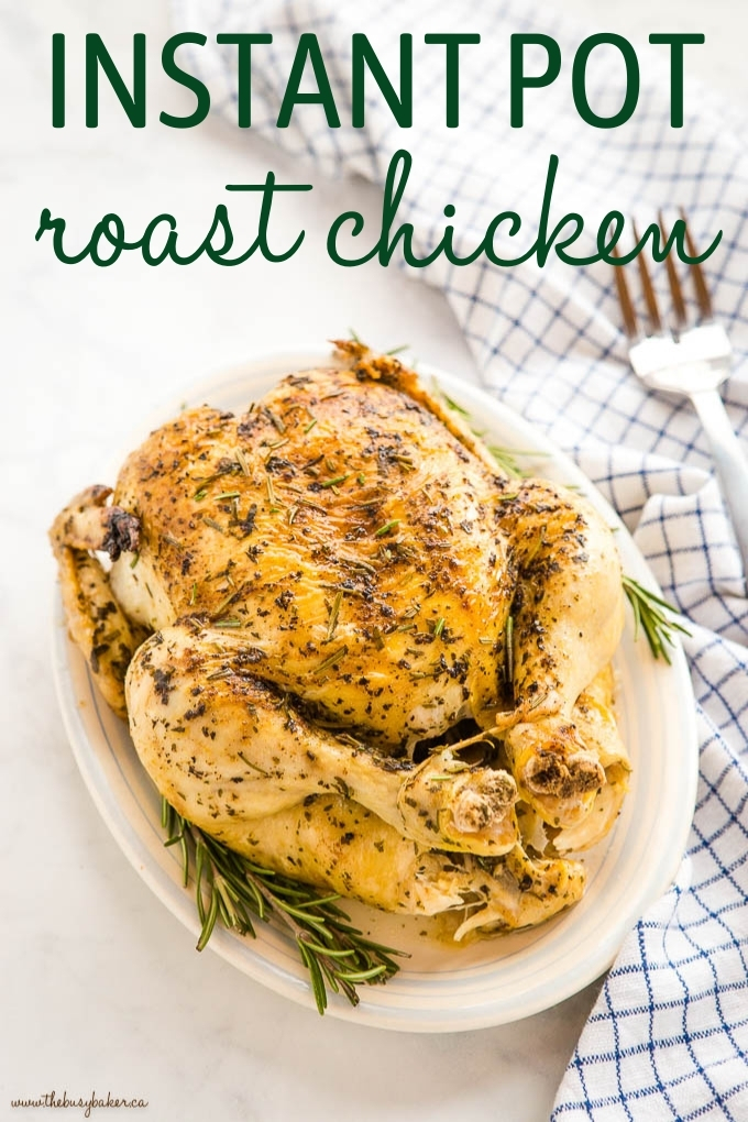 Instant Pot Roasted Chicken and Gravy Recipe