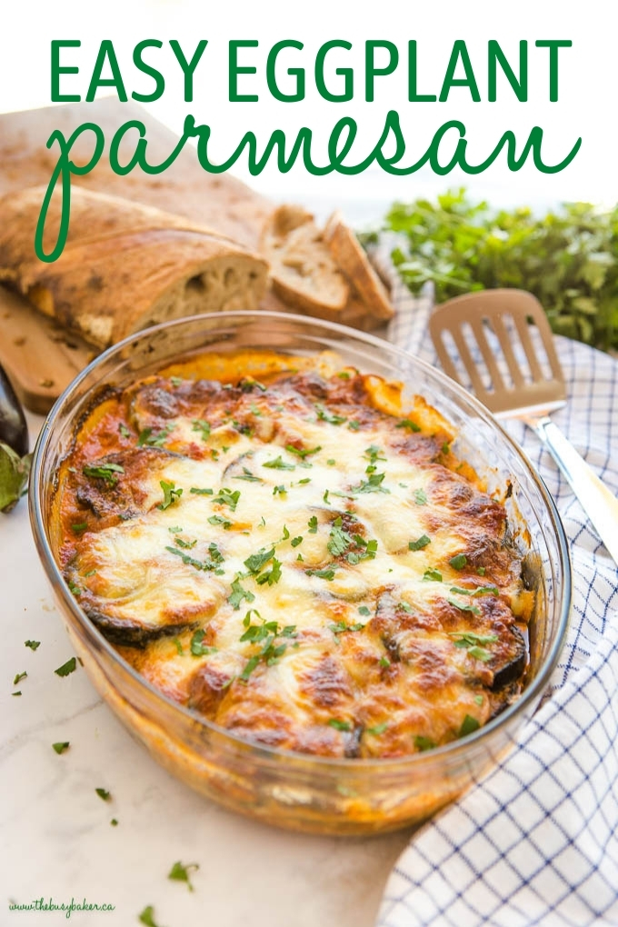 Easy Eggplant Parmesan Recipe