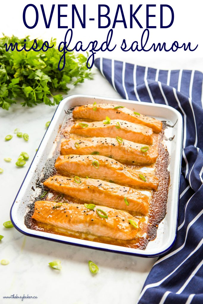 Easy Glazed Miso Salmon Recipe
