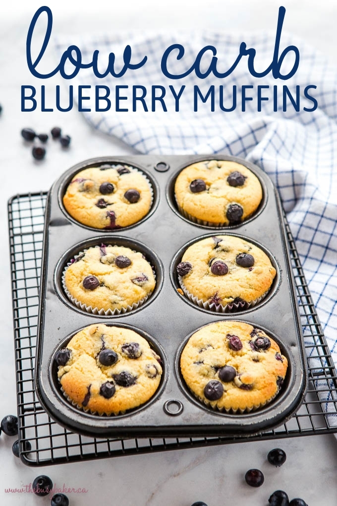 Best Ever Low Carb Blueberry Muffins Recipe