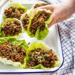 Low Carb Korean Beef Lettuce Wraps