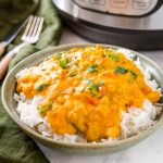 Instant Pot Curry with Lentils