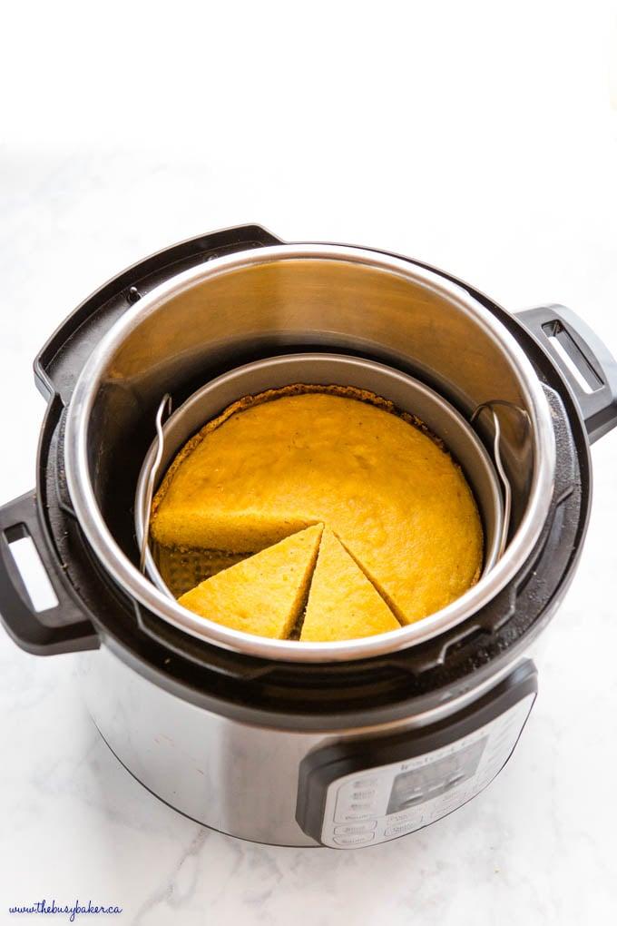cornbread in the Instant Pot
