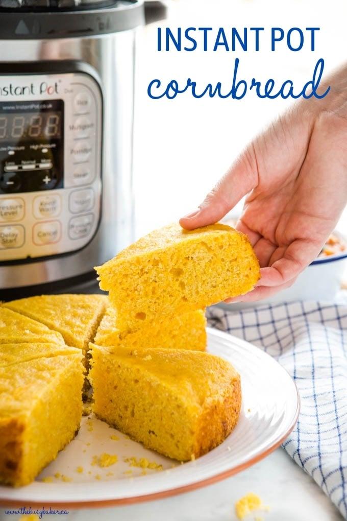 Instant Pot Cornbread Recipe