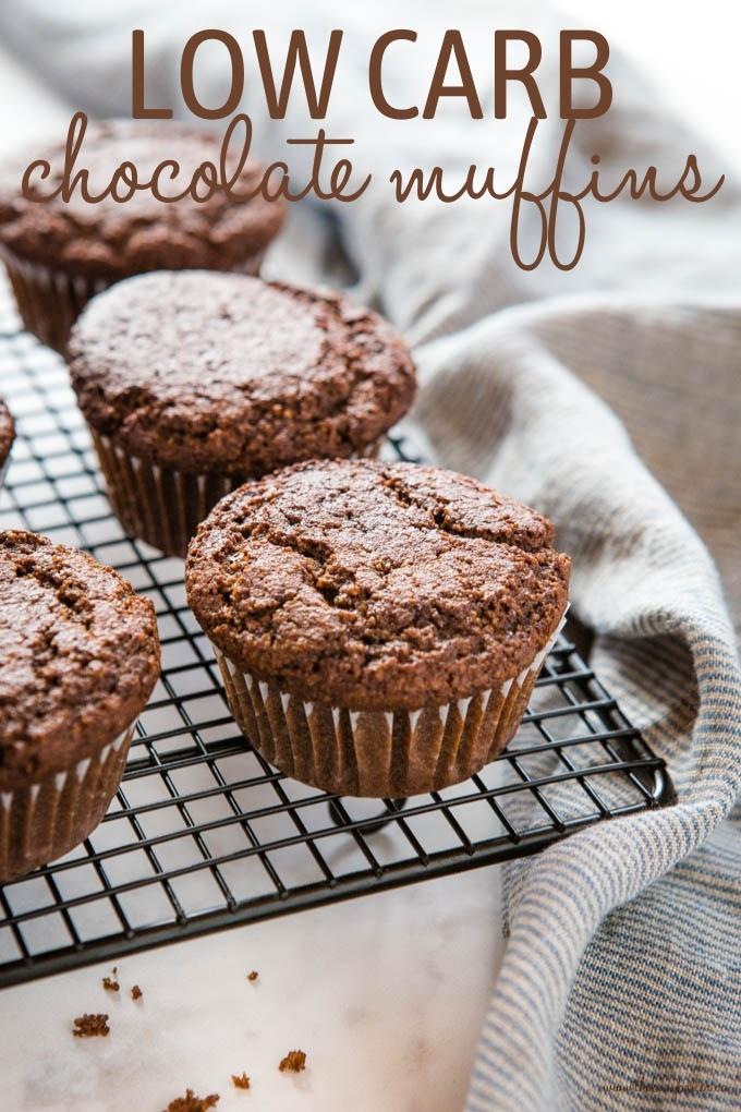 Keto Chocolate Muffins Recipe