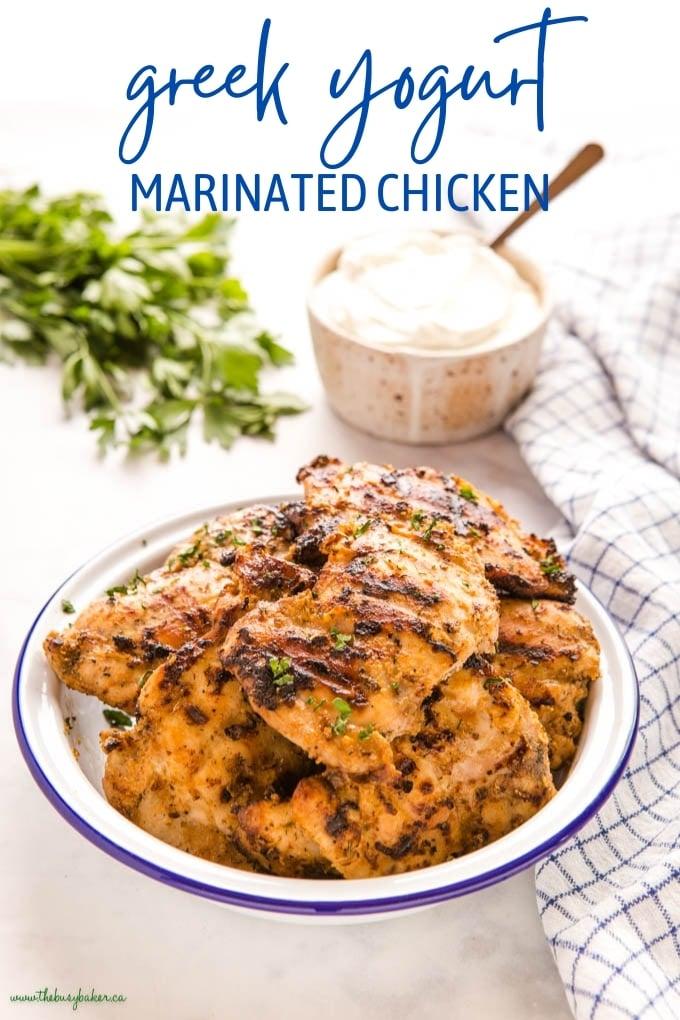 Greek Yogurt Marinated Chicken Recipe