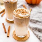 Pumpkin Spice Iced Latte