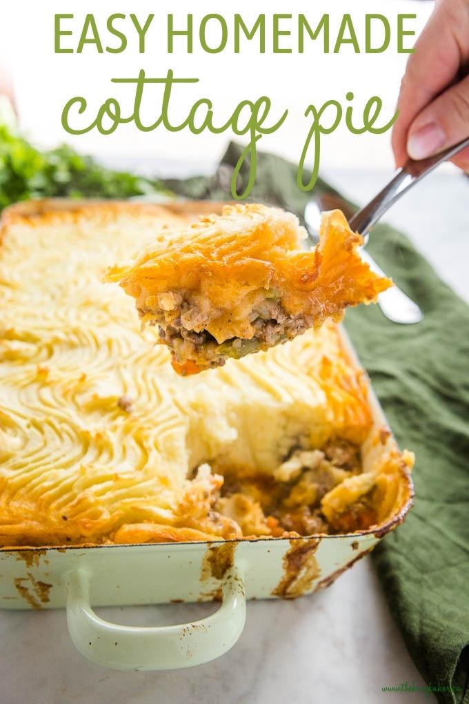 Homemade Cottage Pie Recipe