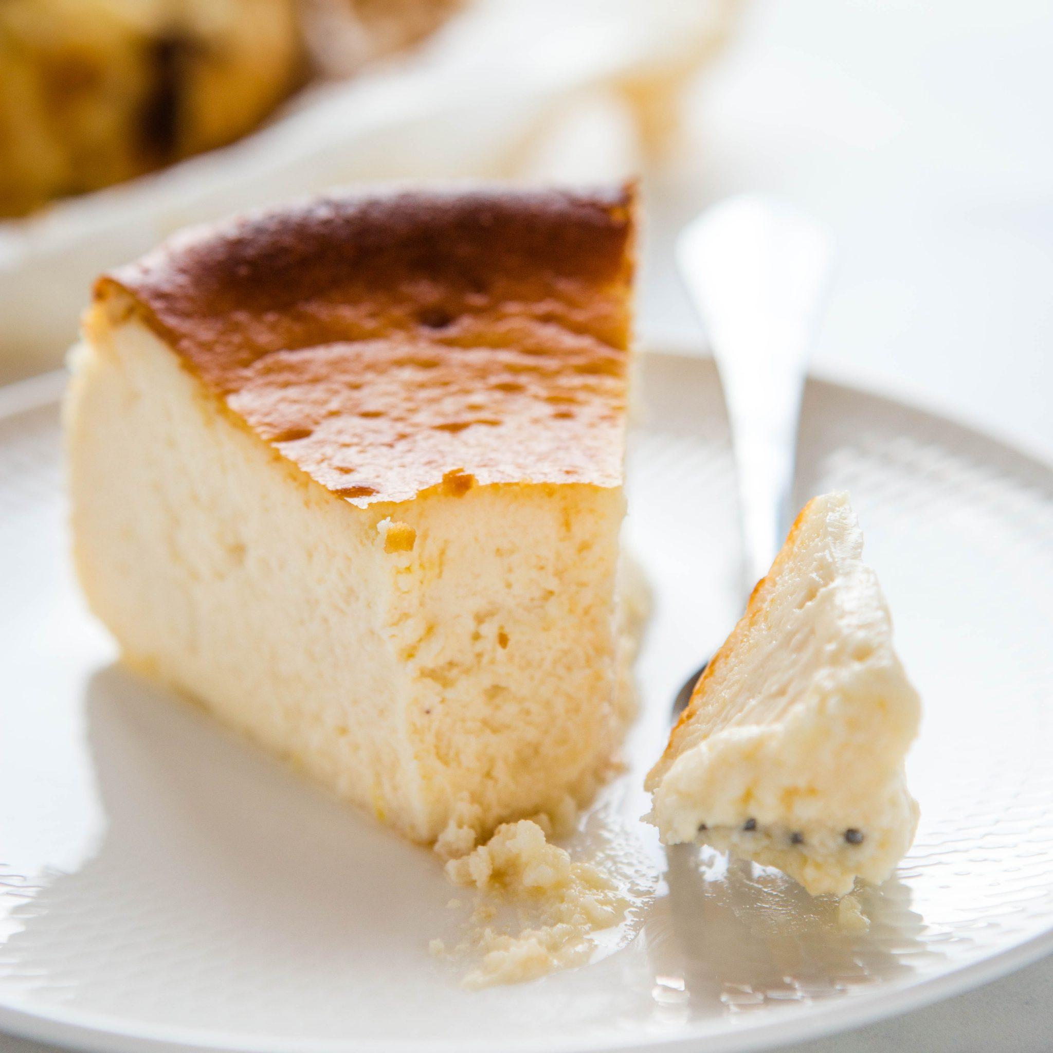 San Sebastian Cheesecake Basque Cheesecake